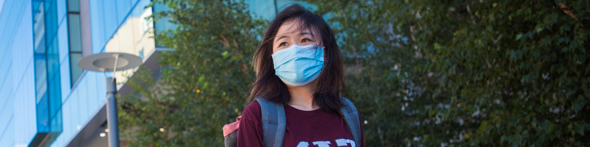 A masked MIT student